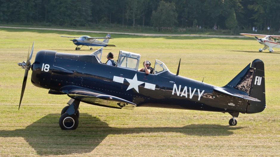 North American AT-6G Texan (N6593D, PG-18, cn 168-471)