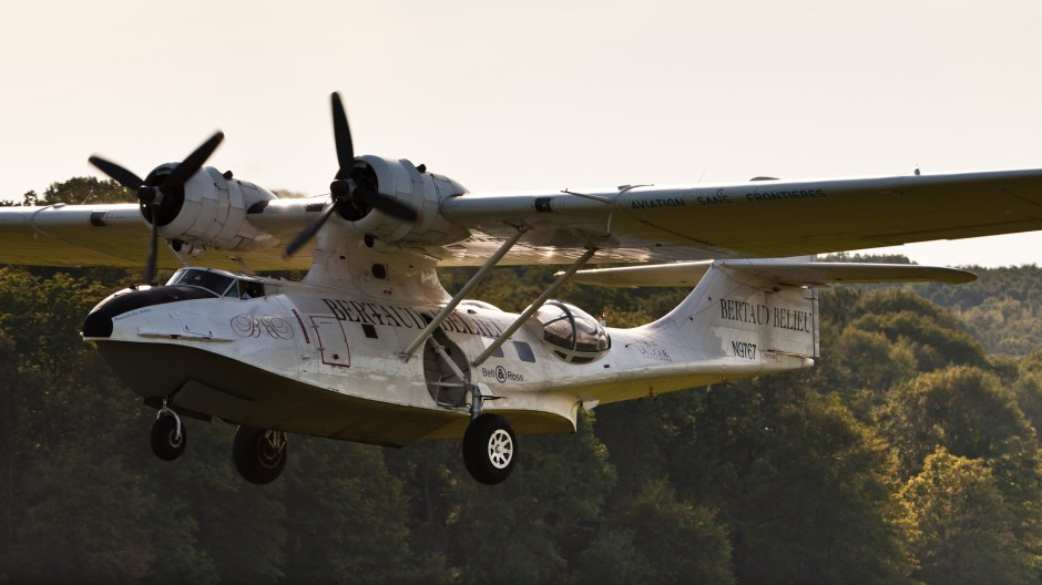 """Consolidated PBY-5A """"Catalina"""" (N9767, cn 105) at Oldtimer Fliegertreffen Hahnweide 2011"""