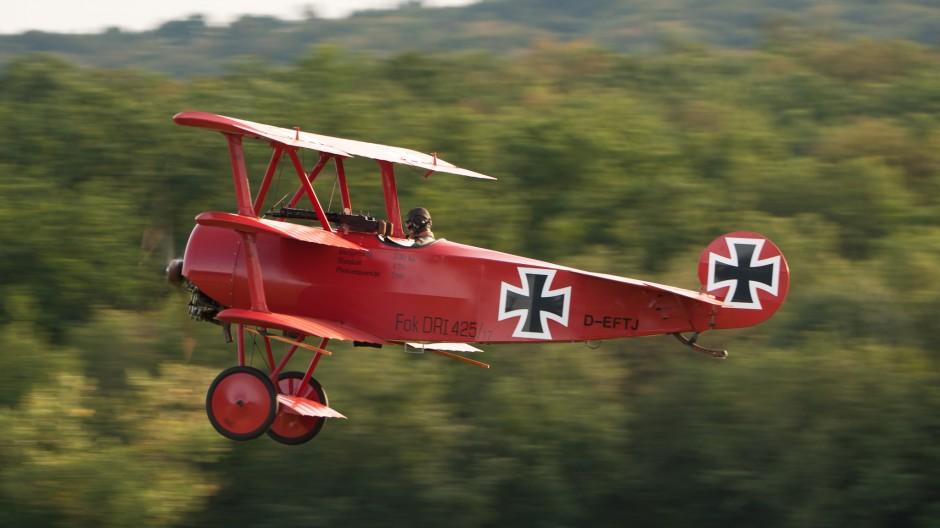 Fokker Dr.I (replica, D-EFTJ)