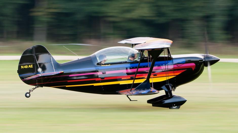 Christen Eagle II (N49AE) - Oldtimer Fliegertreffen Hahnweide 2011 (EDST)