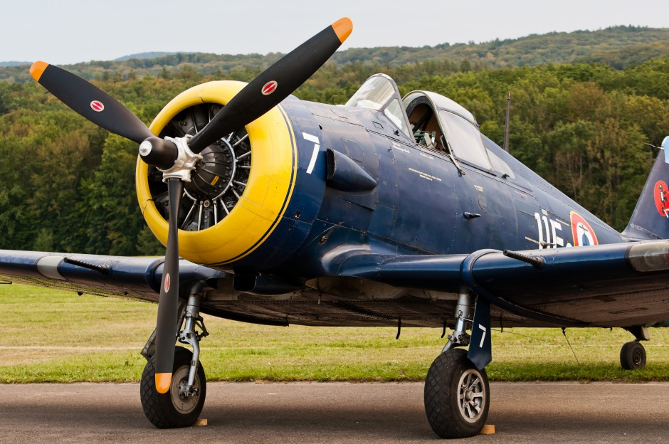 Jacques Bastet's North American NA 68 (F-AZHD, 7/11F2, cn SA-30, 1945) at OTT11