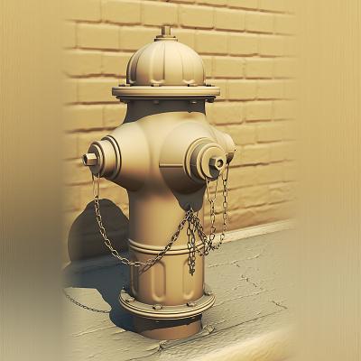 Hydrant • Blender download model