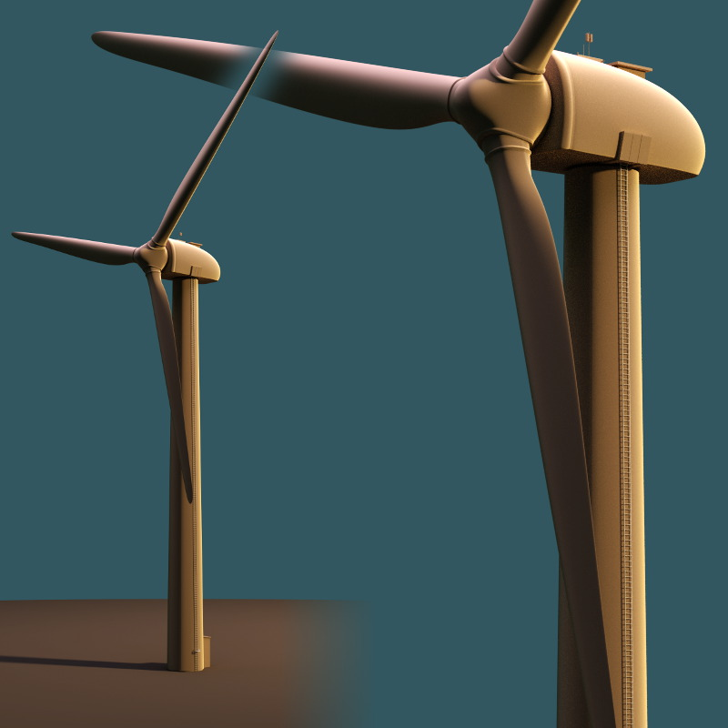 Wind Power Station model download