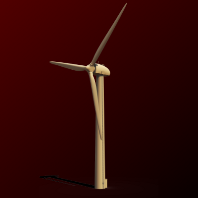 Wind Turbine (Speedmodelling, 45 min)