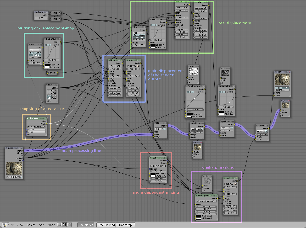 Faking Parallax Mapping inside the Blender Compositor - Blog