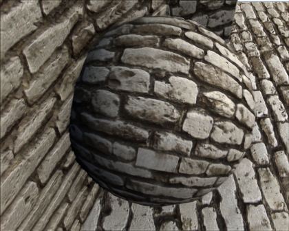 with parallax mapping