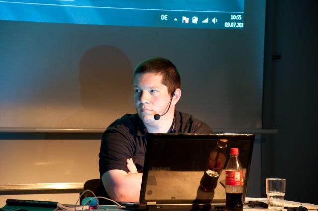 Immanuel Günther on BlenderDay 2011