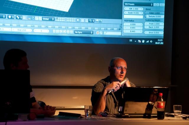 Thomas Hintz on BlenderDay 2011