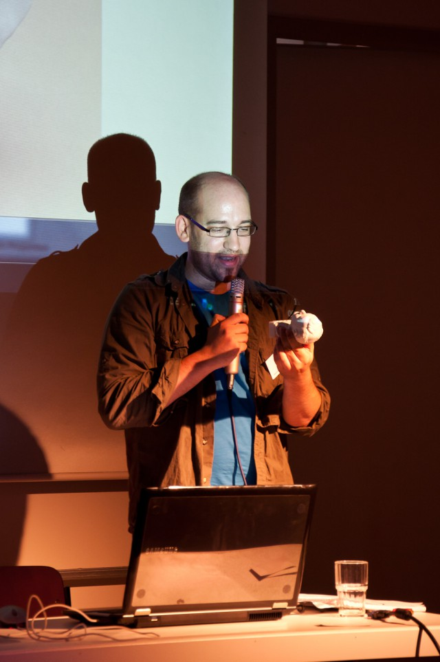 Sebastian König on BlenderDay 2011