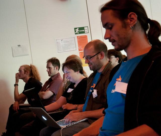 BlenderDay 2011 audience