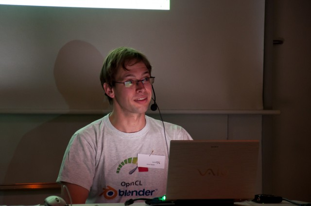 Jeroen Bakker at BlenderDay 2011