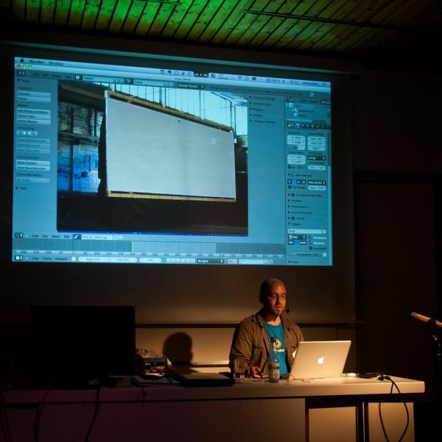 2D tracking in Blender on BlenderDay 2011