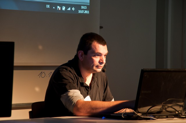 Oliver Schömann on BlenderDay 2011