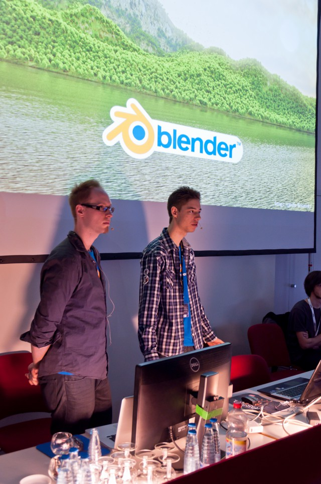 Blender Talk by Andy and Thomas on FMX 2012